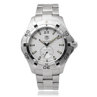 Tag Heuer Stainless Steel Men's 'Aqua Racer' Link Watch