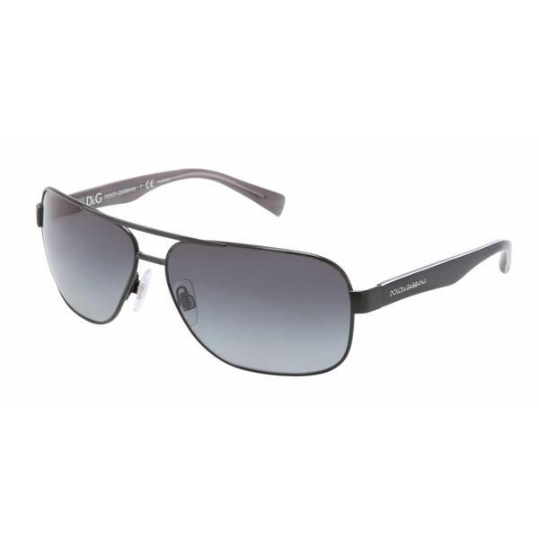 Dolce & Gabbana Men's Black Metal Sunglasses