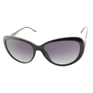 Bvlgari Women's 'BV 8131B 501/8G' Shiny Black Cat Eye Sunglasses