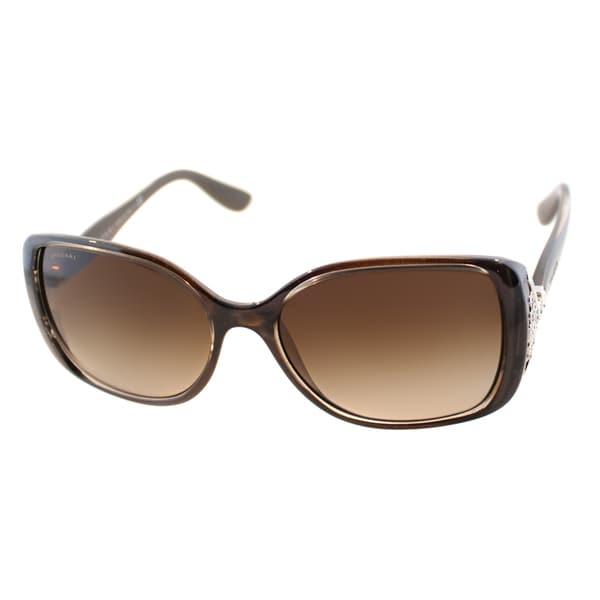 Bvlgari Women's 'BV 8113B 986/13' Havana Turtledove Fashion Sunglasses
