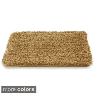 Spa Collection Shaggy Memory Foam Bath Mat