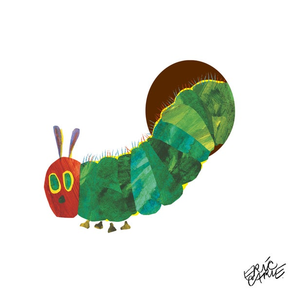 Eric Carle The Very Hungry Caterpillar Character Art Caterpillar 5 Canvas Print