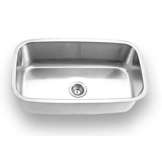Stainless Steel Undermount Single Bowl