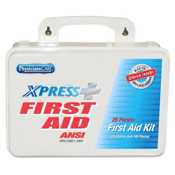 PhysiciansCare Xpress First Aid Complete ANSI Kit Refill System, 99 Pieces