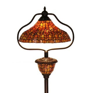 Tiffany-style Trinetta Floor Lamp