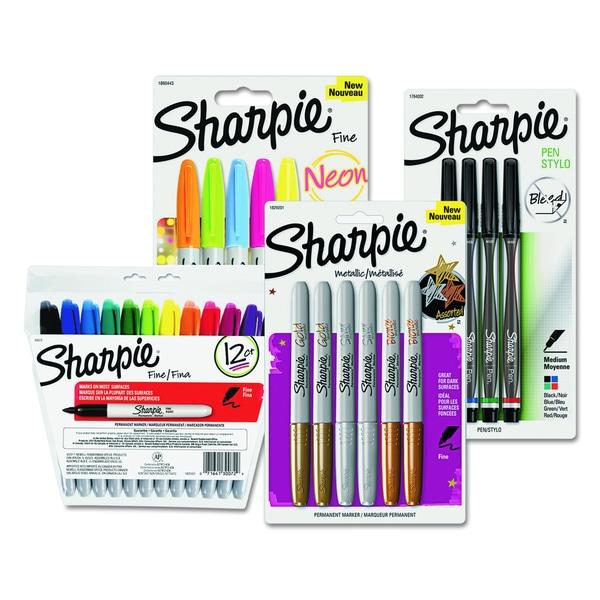 Sharpie Permanent Markers 27-pen Assorted Bundle