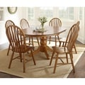 Springdale 7-piece Oak Dining Set