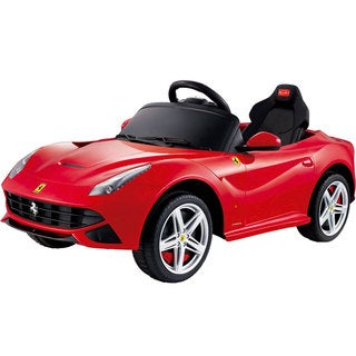 Rastar Ferrari F12 12v Red Remote Control Ride On Car