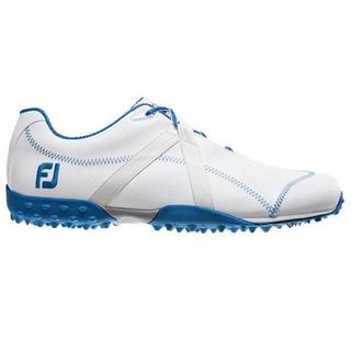 FootJoy Men's M Project White-Vibrant Blue Golf Shoes