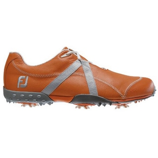 FootJoy Men's M Project Burnt Orange-Silver Golf Shoes