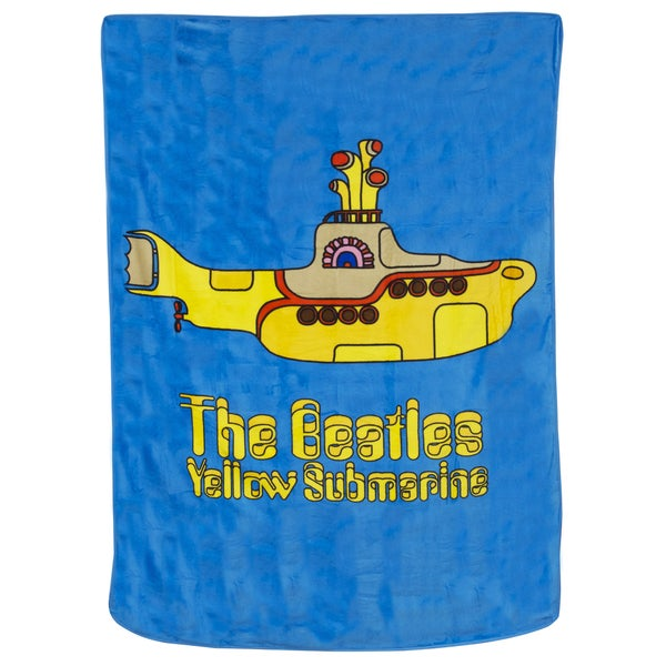 Beatles Yellow Submarine Blanket and Pillow Set