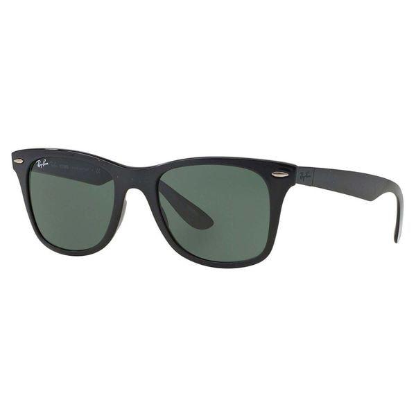 Ray-Ban Unisex Liteforce Black Wayfarer Sunglasses