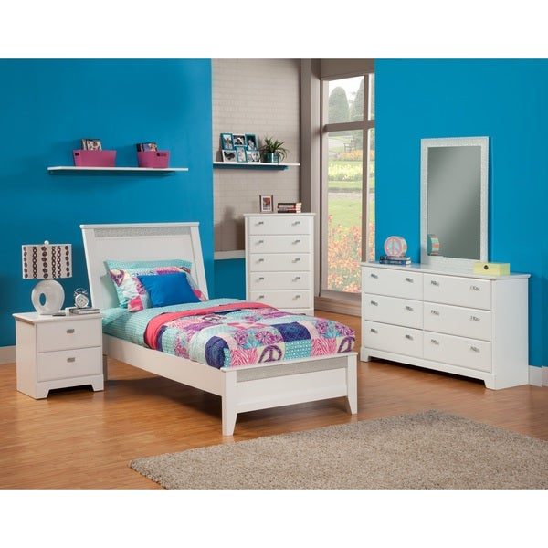sandberg furniture hailey bedroom set 16818104