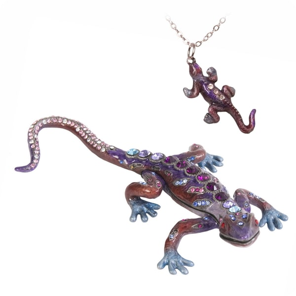 Prince of the Jewels Gecko Trinket Box