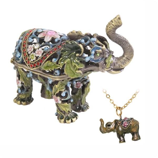 Parade Elephant Trunk Trinket Box