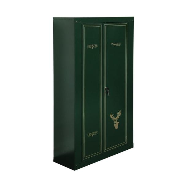 14-Gun Metal Safety Storage Cabinet