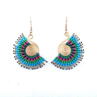 Handmade Bohemain Earrings (Thailand)