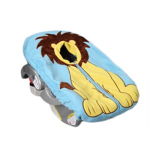 Lion Infant Car Seat Fleece Cover