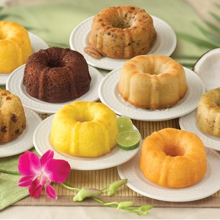 4-ounce Mini Bundt Cakes (8-Pack Sampler)