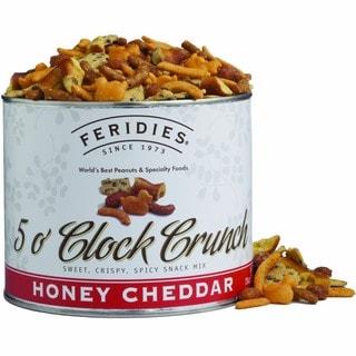 Feridies Honey Cheddar 5 O'Clock Crunch 28-ounce Can