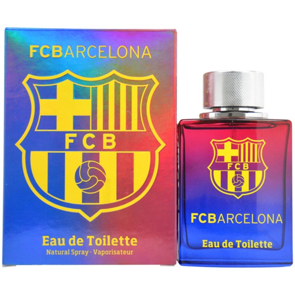 Air-Val Internationa FC Barcelona Men's 3.4-ounce Eau de Toilette Spray