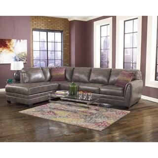 SB Signature Design by Ashley Sarai Grey DuraBlend Sofa