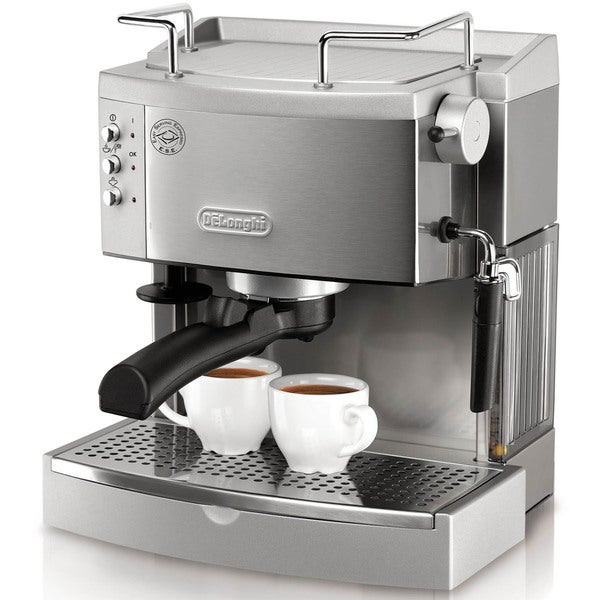 DeLonghi 15-bar Pump Stainless Steel Espresso Maker 14371122