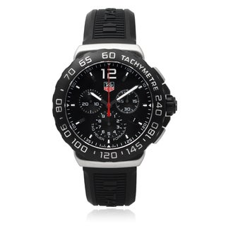 Tag Heuer Men's Stainless Steel 'Formula 1' Chronographic Watch