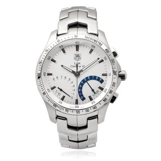 Tag Heuer Stainless Steel Men's Steel ' Link Calibre S' Link Watch