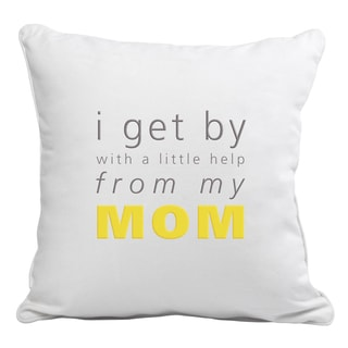 Helpful Mom Throw Pillow