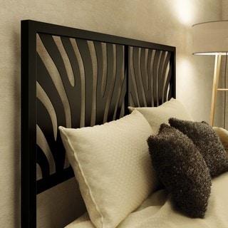 Amisco Zebra Full Size Metal Headboard