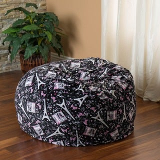 Christopher Knight Home Riley 3-foot Parisian Pattern Beanbag