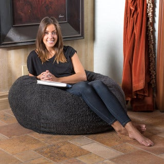 Christopher Knight Home Riley 3-foot Wool Beanbag