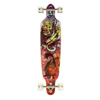 Punisher Skateboards ONI Professional Drop Down 40-Inch Longboard with Mild Concave