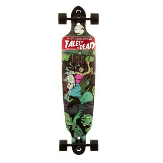 Punisher Skateboards Tales of the Dead Drop Down 40-Inch Longboard with Mild Concave