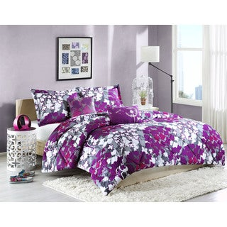 Intelligent Design Annette Polyester 5-piece Comforter Set