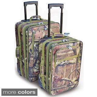 Explore 2-piece Mossy Oak Luggage Set