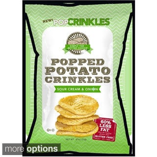PopCrinkles Popped Potato Chips (Case of 48)