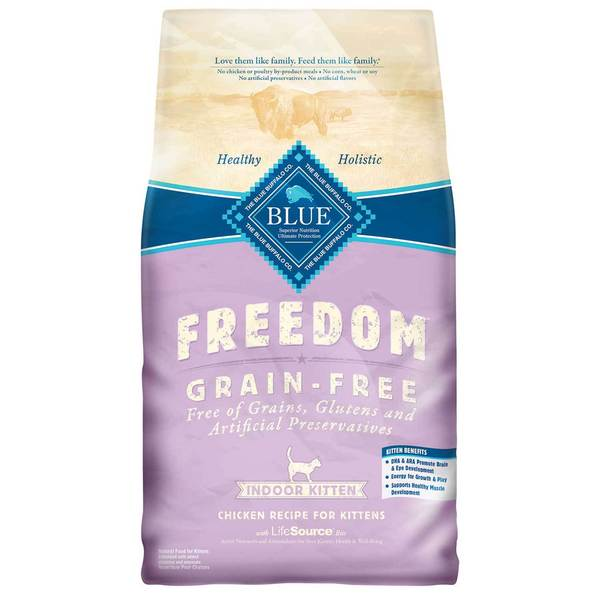 Blue Buffalo Blue Freedom Grain Free Dry Kitten Food