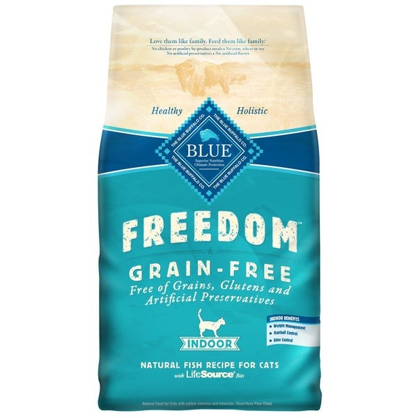 Blue Buffalo Freedom Grain-Free Indoor Fish Recipe Dry Cat Food