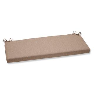 Pillow Perfect Sunbrella Linen Tan Bench Cushion