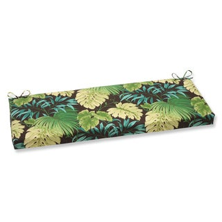 Pillow Perfect Tropique Green Bench Cushion