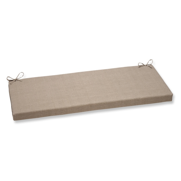 Pillow Perfect Monti Taupe Bench Cushion