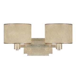 Capital Lighting Luna Collection 2-light Painted Winter Gold Bath/Vanity Light