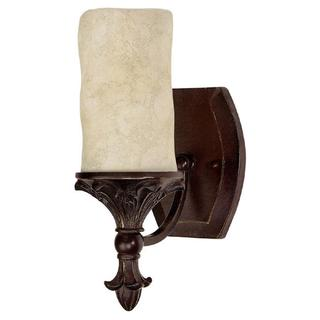 Capital Lighting Mediterranean Collection 1-light Mediterranean Bronze Wall Sconce