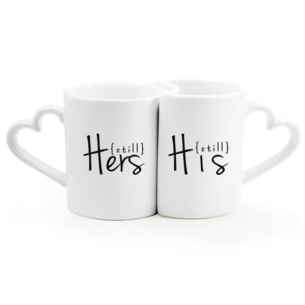 {Still} Hers {Still} His Coffee Set