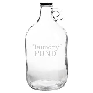 Laundry Fund Glass Growler