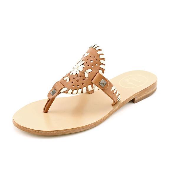 Jack Rogers Women's 'Georgica' Leather Sandals