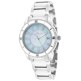Oceanaut OC2410 Women's Charm Round Two-tone Bracelet Watch