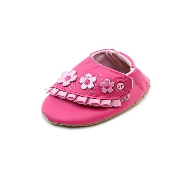 Stride Rite Girl (Infant) 'Rosy Ruffles ' Leather Casual Shoes